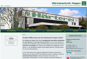 Härterei Webseite